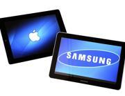 Un iPad 2 di Apple e un Samsung Galaxy Tab 10.1