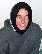 Una foto di Rachel Corrie a Gaza (Afp/Abed)
