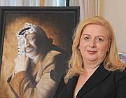 Suha Arafat, vedova del leader dell'Olp, Yasser Arafat
