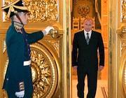 Vladimir Putin al Cremlino  (Epa)