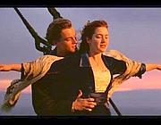 Leonardo DiCaprio e Kate Winslet. in Titanic