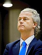 Geert Wilders, leader dell'estrema destra
