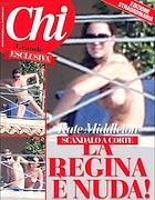 La copertina dell'edizione di Chi annunciata per luned� (Ansa/Chi)
