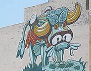 La «mucca di verdura», il simbolo dell'Eastern Market a Detroit