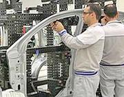 Lo stabilimento Fiat di Pomigliano