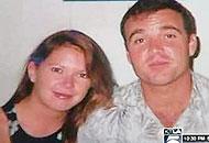 David Viens e la moglie