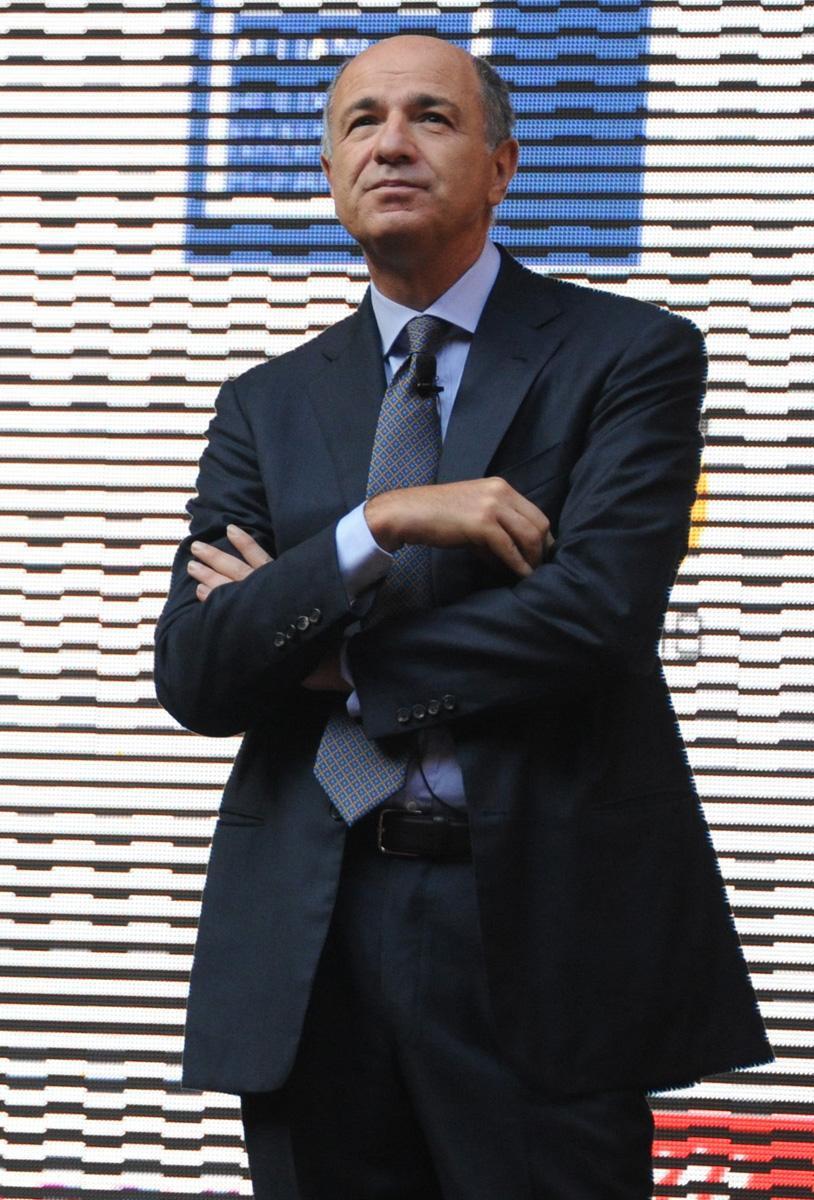 Il ministro Corrado Passera (Omniroma)