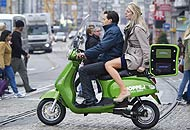 Olanda: i taxi diventano scooter elettrici