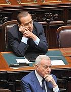 Berlusconi e Gianni Letta (Imagoeconomica)