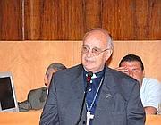 Il vescovo italiano di Doba Michele Russo (Foto web)