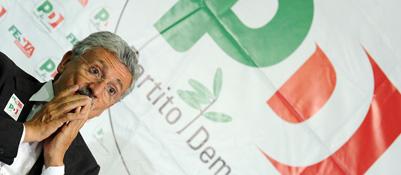 D'Alema: «Mi candido solo seme lo chiede il Partito»