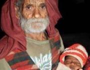 Ramajit Raghav e il suo primo figlio Vikramjeet