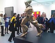 La scultura di Vezzoli che 'rivisita' Boccioni