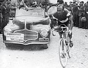 Ricordi in bianco e nero: Giro 1953, Magni in azione nella tappa Auronzo di Cadore-Bolzano (Rcs Quotidiani)