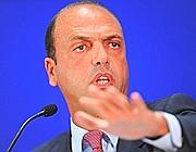 Angelino Alfano  (Ansa/M. Degl'Innocenti)