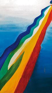 Koen van den Broek, «Wave» (al Mag di Arco, Trento, fino al 9 dicembre)