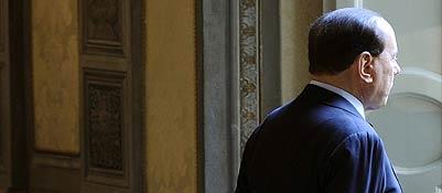 Silvio Berlusconi, leader del Pdl (Ansa/Giglia)