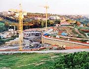 Una foto della Valle dei Casali a Roma, riserva Naturale vincolata e protetta di circa 500 ettari, dove, nel 2000, è stata concesa l' autorizzazione per costruire un grande albergo (Ansa)