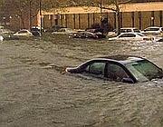 Auto sott'acqua in New Jersey (Reuters)