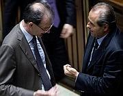 Massimo Donadi e Antonio Di Pietro