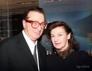 Maurice Saatchi e la moglie, la scrittrice Josephine Hart