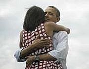La foto postata da Obama