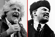 «Grillo: Lenin ti fa un baffo» dice Bersani