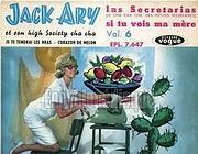 La copertina di Las secretarias di Jack Ary
