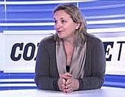 Laura Puppato durante la videochat con i lettori di Corriere.it