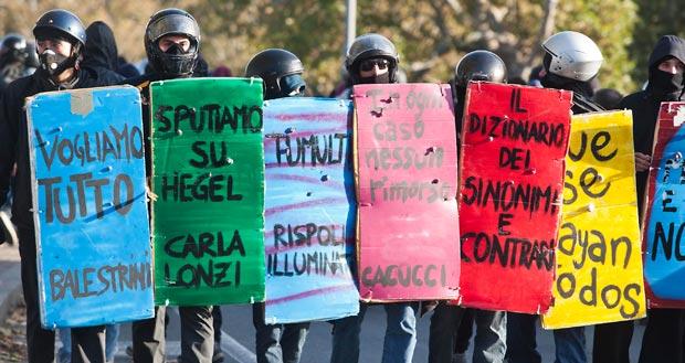 Comunicato di solidarietà sul 14N dalla facoltà di Lettere della UBA - Università di Buenos Aires [ITA-ESP]