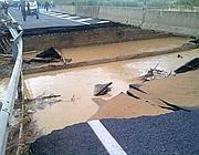 Un effetto dell'alluvione che ha colpito il grossetano. La legge di Stabilità prevede attualmente uno stanziamento di 250 milioni di euro per aiutare le popolazioni colpite (Ansa)