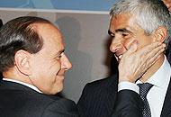 Berlusconi e Casini in una foto d'archivio
