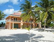 La casa in Belize in cui è stato trovato morto Faull (Reuters)