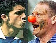 Gattuso e Gascoigne, compagno nei Rangers