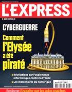 La copertina dell'Express sull'attacco hacker