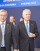 Mario Monti al vertice di Bruxelles