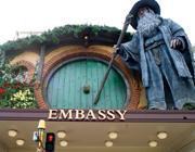 L'ingresso dell'Embassy Theatre