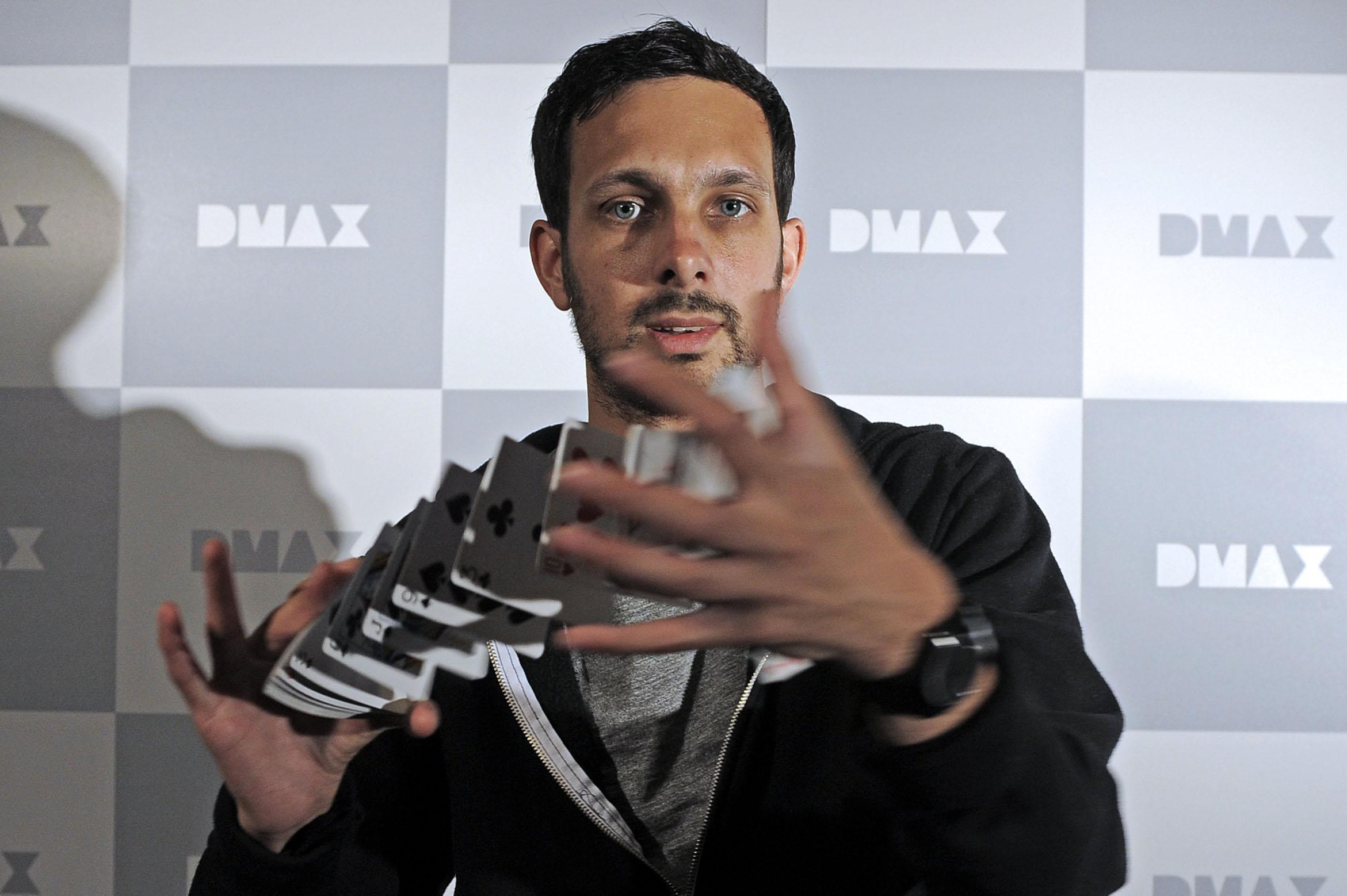 L'illusionista Dynamo (LaPresse/D'Alberto)