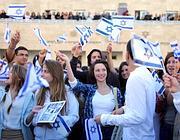 Manifestazioni in Israele (Epa)