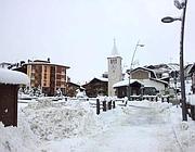 Neve in Valle d'Aosta (Ansa)
