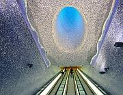 Napoli, stazione del metro Toledo