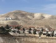 Un insediamento israeliano nella West Bank (Ap)