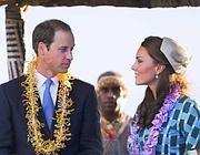 Kate e William  in Nuova Zelanda (Ansa/Coch)
