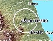 La zona dell'epicentro dal sito di INGV