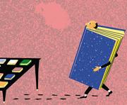 Una immagine simbolica del mercato editoriale (Archivio Corsera)