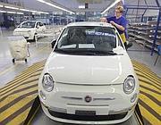 La fabbrica Fiat di Tychy (Afp)