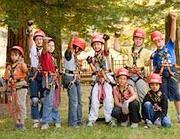 Bambini ospiti di un Dynamo camp