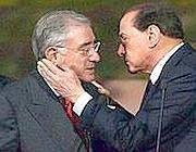 Dell'Utri e Berlusconi (Imagoeconomica)