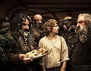 Una scena de «Lo Hobbit»