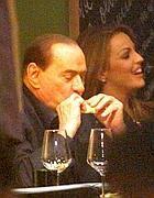 Berlusconi con Francesca Pascale